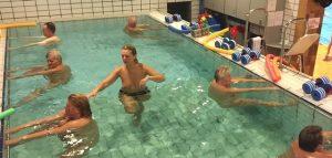 VarmtVandsTræning i @ Frederiksberg Svømmehal