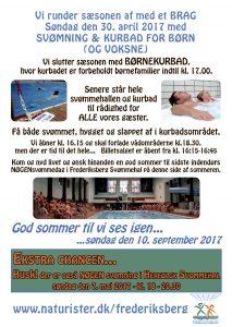 Vi slutter sæsonen med Børnekurbad i @ Frederiksberg Svømmehal | Frederiksberg | Danmark