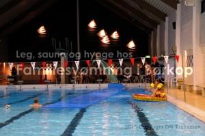 Familiesvømning, 10 års jubilæum og sæsonafslutning i Børkop @ Børkop Svømmehal