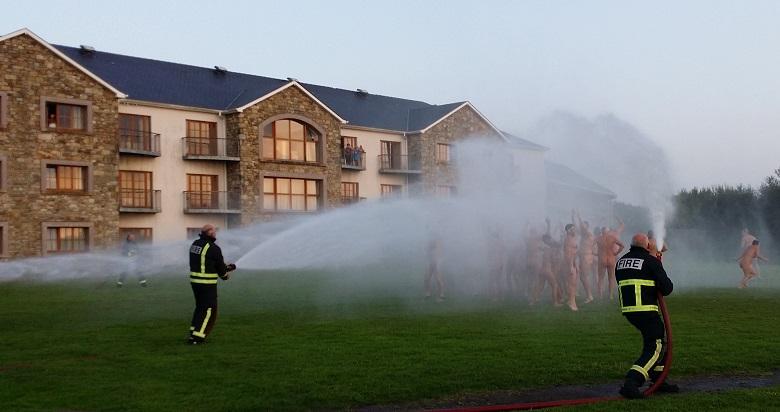 Irsk brandvæsen i aktion