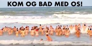 Den store badedag @ ved Femøren på Amager Strand (Kastrup Søbad)