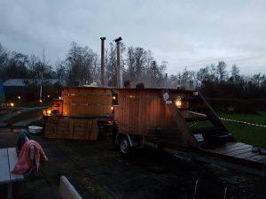 Vildmarksbad og SaunaGus @ Tysmosen FrluftsCenter